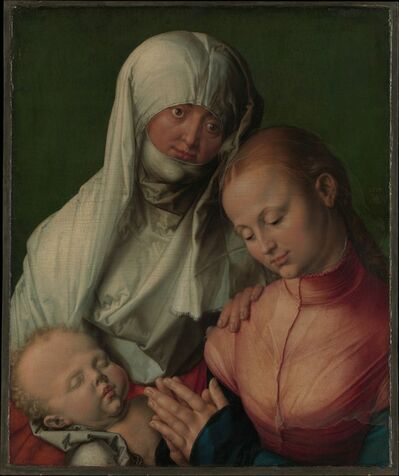 Albrecht Dürer, 'Virgin and Child with Saint Anne', ca. 1519