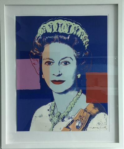 Andy Warhol, 'Reigning Queens (Royal Edition): Queen Elizabeth II of the United Kingdom', 1985