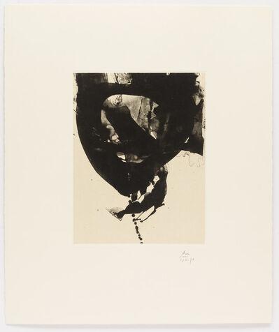 Robert Motherwell, 'Octavio Paz Suite: Nocturne VIII', 1988