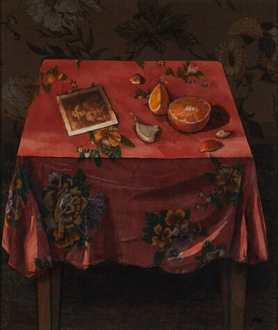Ali Clift, 'Red Tablecloth', 1997