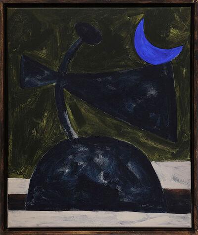 Jordy van den Nieuwendijk, 'Figure With Blue Moon', 2016
