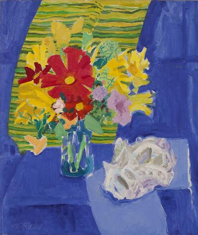 Nell Blaine, 'Blue Cloth', 1980