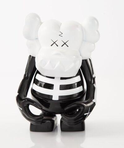 KAWS, 'Skull Kun (Black/White)', 2006