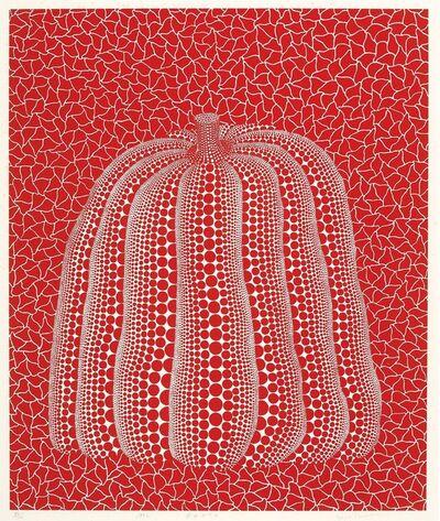 Yayoi Kusama, 'Red Pumpkin', 1992