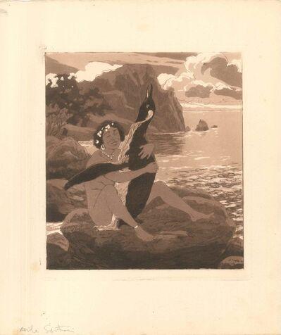 Emil Sartori, 'Erotic Scene III - Illustration', 1907