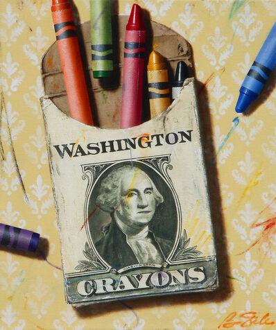 Ben Steele, 'The Colors of Money: Washington', 2020