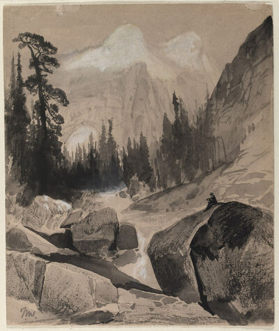 Thomas Moran, 'The North Dome, Yosemite, California', 1872