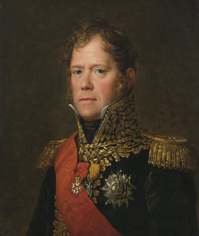 François-Pascal-Simon, called Baron Gérard, 'Portrait of Michel Ney, Marshall of the French Empire, Duc of Elchingen, Prince of Moscow'
