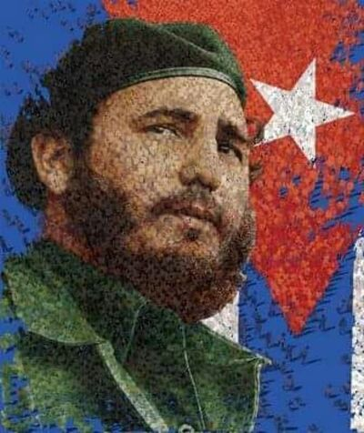 Syaiful Rachman, '  Fidel Castro', 2017