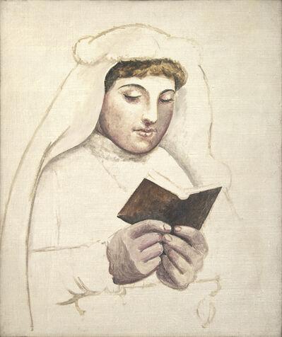 Pablo Picasso, 'La communiante avec missel', 1919