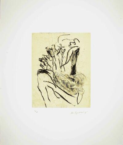 Willem de Kooning, 'Seventeen Lithographs for Frank O'Hara: One plate', 1988