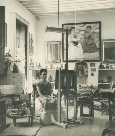 Fritz Henle, 'Frida In Her Studio', 1943
