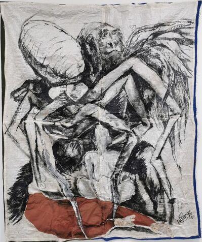 Ange-Arthur Koua, 'Lalafouê sran kouati'm (Les héros des temps anciens)', 2020