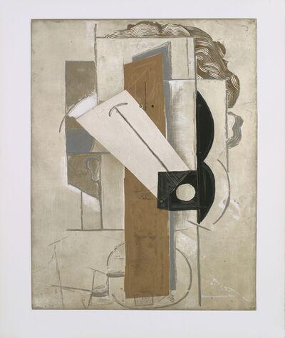 Pablo Picasso, 'Tete de Jeune Fille a La Colombe', 1956