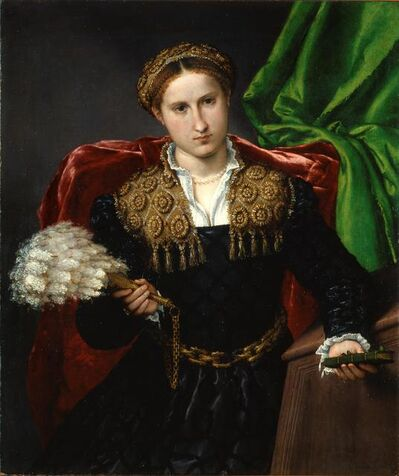 Lorenzo Lotto, 'Portrait of Laura da Pola', 1544