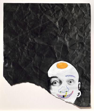 Andres Layos, 'Papá con un huevo frito y mocos', 2015