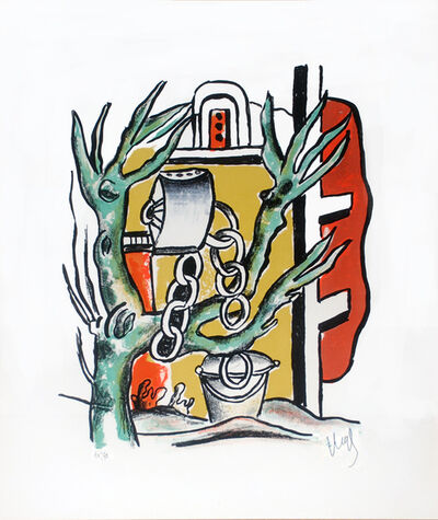 Fernand Léger, 'Le Puits (The Well)', 1951