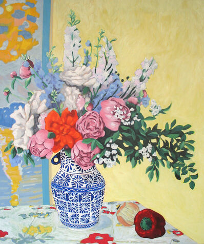 Holly Coulis, 'Still life with Peonies', 2010