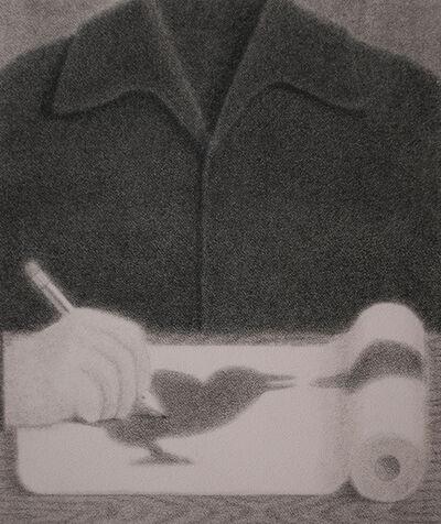 Johnny Izatt-Lowry, 'Self Portrait at the Kitchen Table ', 2020
