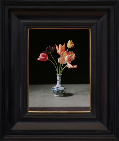 Rob and Nick Carter, 'Transforming Five Tulips in a Wan-Li Vase', 2017