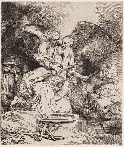 Rembrandt van Rijn, 'Abraham's Sacrifice', 1655