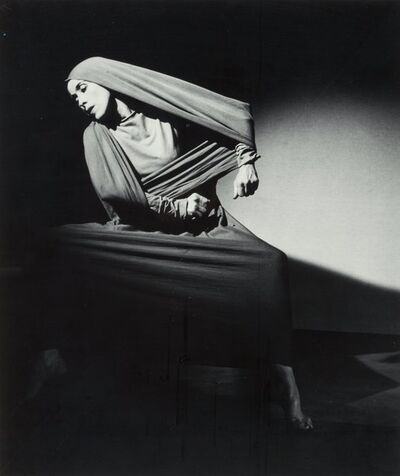 Barbara Morgan, 'Martha Graham - Lamentation', 1935