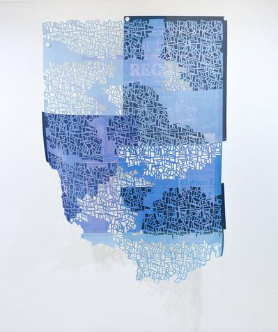 Donna Ruff, 'After Irma (blue)', 2017
