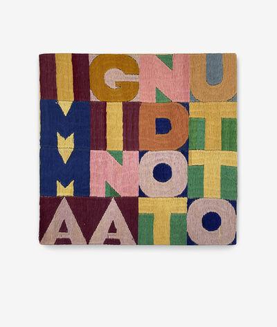 Alighiero Boetti, 'Immaginando tutto', 1979