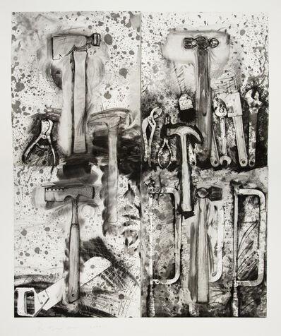 Jim Dine, 'With Aldo Behind Me', 2008