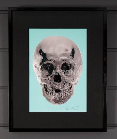 Damien Hirst, ''Till Death Do Us Part, Skull, Aqua/Silver ', 2012