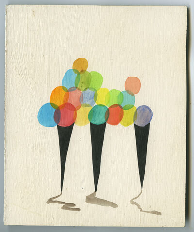 Sandra Wang and Crockett Bodelson SCUBA, 'Color Cones', 2011