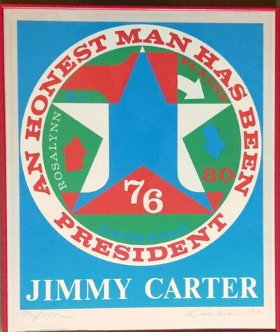 Robert Indiana, 'An Honest Man Has Been President (Sheehan, 112)', 1980