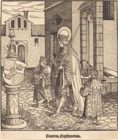 Leonhard Beck, 'Saint Sigismundus', 1516/1518