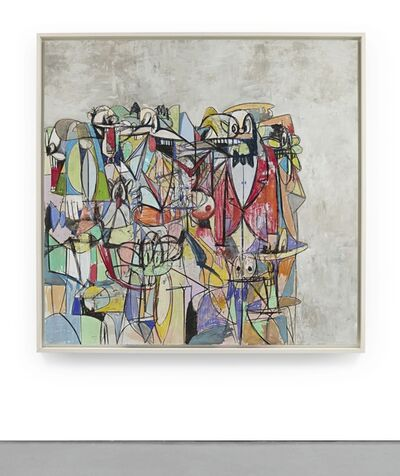 George Condo, 'Compression IV'