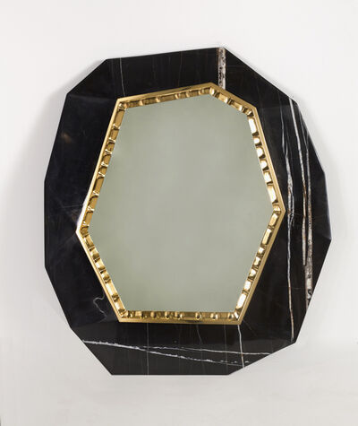 Achille Salvagni, 'Lucy, Patinated Marble Mirror', 2013