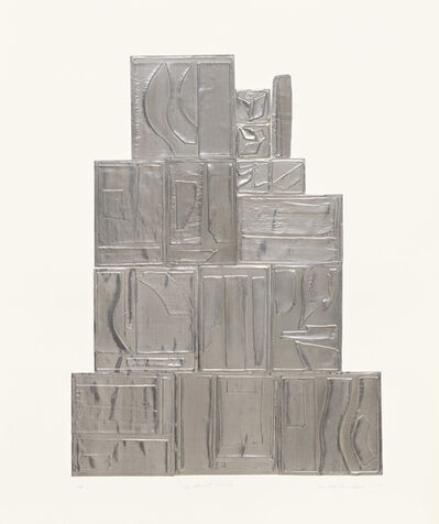 Louise Nevelson, 'The Great Wall, Lead', 1970