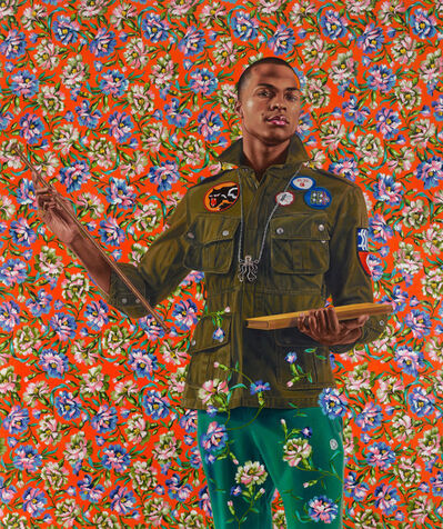 Kehinde Wiley, 'Anthony of Padua', 2013