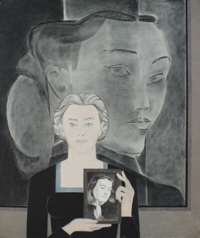 Will Barnet, 'Now and Then', 1989