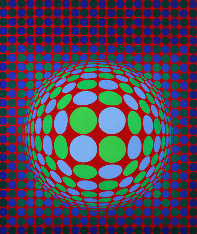 Victor Vasarely, 'LYNT-MC ', 1974