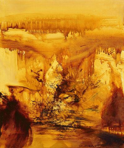 Zao Wou-Ki 趙無極, 'Untitled ', 1973