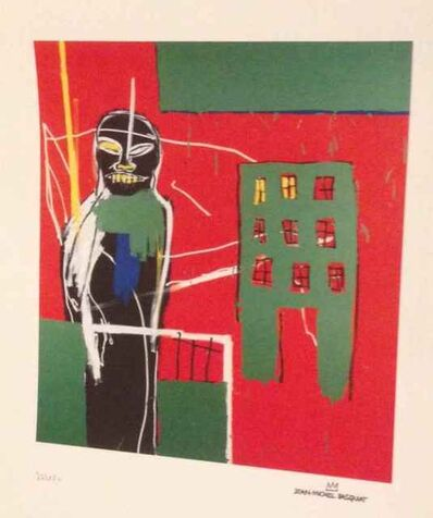 Jean-Michel Basquiat, 'Pedestrian 2 (Reproduction)', 1984