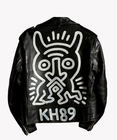 Keith Haring, 'Schott Motorcycle Jacket Painting', 1989
