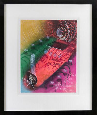 Roberto Matta, 'Une Saison en Enfer Attire le gai Venin', 1977