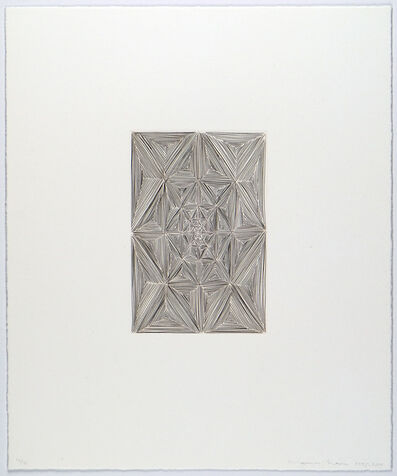 James Siena, 'Coffered Rectangle', 1995-2019