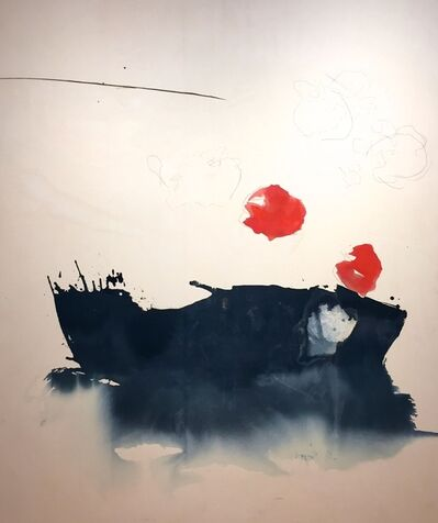 Melissa Herrington, 'Morning's Red Orb. Held by the Sea. Dim Lit Ever Deep into the Wandering Shift. II'