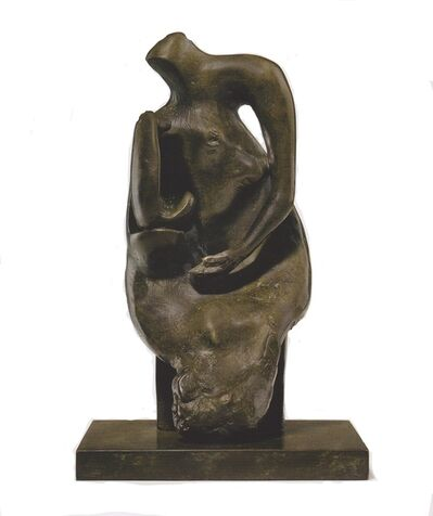 Henry Moore, 'Maquette for Mother and Child: Block Seat', 1981