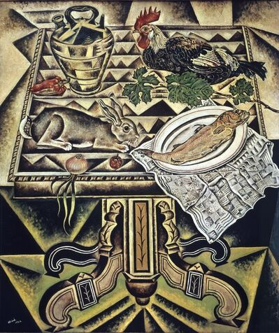 Joan Miró, 'The Table, called Still life with Hare', 1920