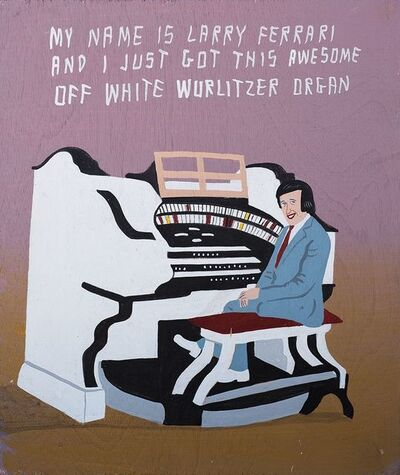 Javier Mayoral, 'My Name Is Larry Ferrari And I Just Got This Awesome Off White Wurlitzer Organ', 2014