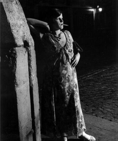 Brassaï, 'Fille De Joie Du Quartier Italien Dans Une Robe Printanière', 1931