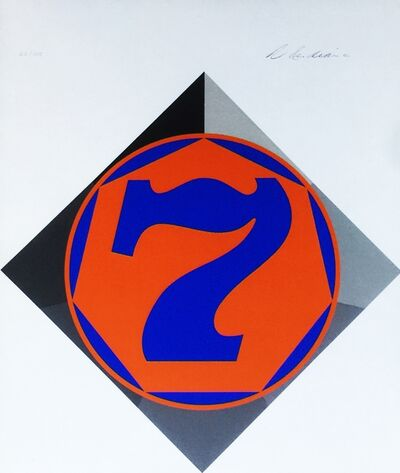 Robert Indiana, 'Heptagon (Seven) Catalogue Raisonne: Sheehan, 58', 1970